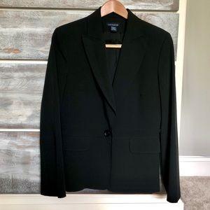 Ann Taylor Classic Black Blazer Size 8